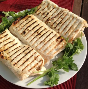 Armenian Russian Shaorma chicken wraps recipe