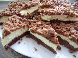 Russian tvorog chocolate-cake
