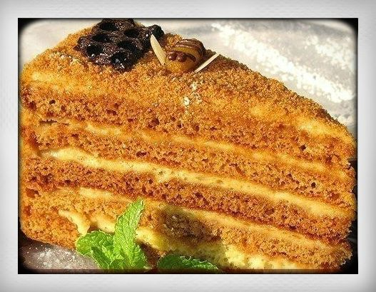 Russian honey cake recipe