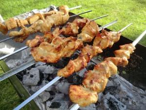 Russische BBQ Sjasliek shashlik grill recipe