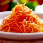 Russian Korean style kimchi carrot