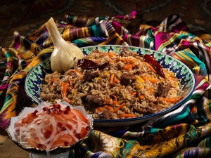 Authentic pilaf plov rice recipe