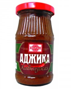 Adjika ajika Georgian spicy sauce ingredients